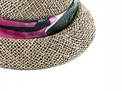 cloche straw hat for women