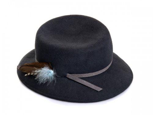 hat designer, justine hats , womens felt hat