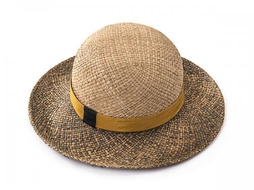 straw hat by justine hats
