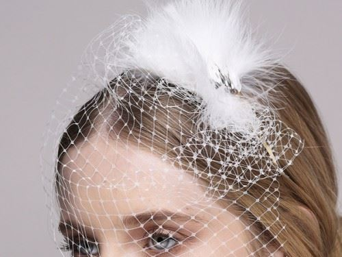 wedding head fascinator, bridal fascinator