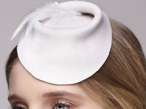 bridal head fascinator, bridal accessory