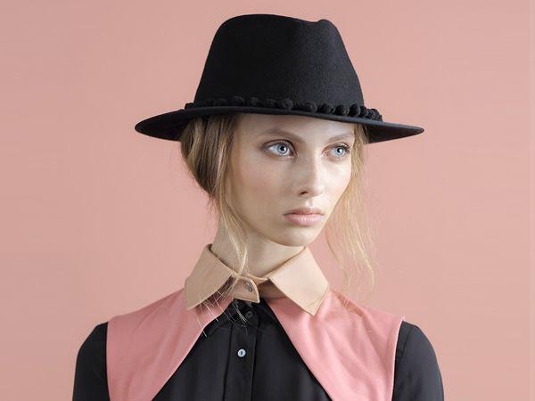Pompom Fedora Hat AVY – Justine hats cd166b4b1854