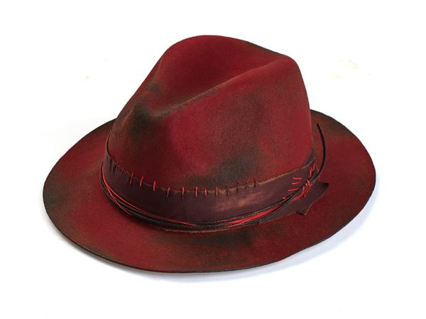 2250160b1 Red Fedora Hat