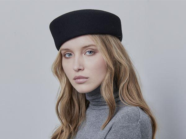 8cd9017874044 Black Felt Fascinator – Justine hats